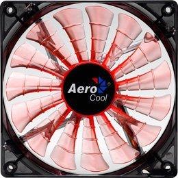 Aerocool Shark Fan 12cm Evil czarny Edition 3-Pin pomarańczowy