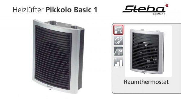 Termowentylator Pikkolo Basic 1 STEBA