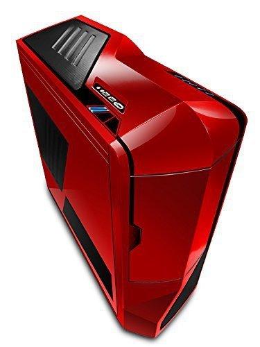 NZXT Phantom czerwony/czarny, Big-Tower czerwony