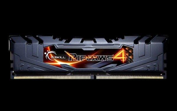 G.Skill 16GB DDR4-3000 Kit, czarny, F4-3000C15D-16GRK, Ripjaws 4