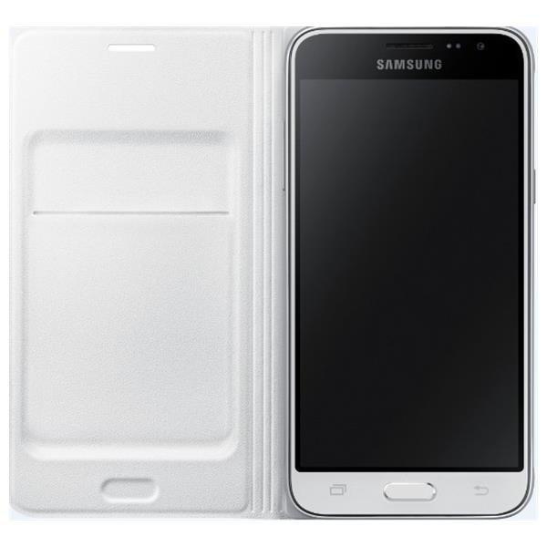 Samsung Flip Wallet dla Galaxy J1 2016 white