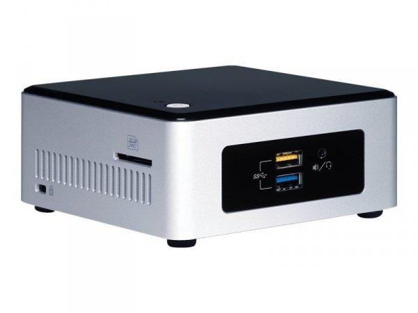 Intel NUC Kit NUC5PPYH  Intel Pentium N3700, Barebone srebrny/czarny
