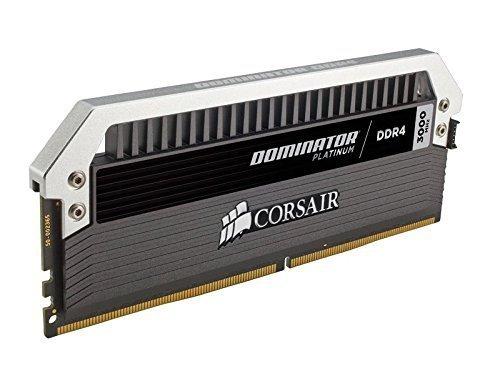 Corsair  8GB DDR4-3000 Kit, czarny, CMD8GX4M2B3000C15, Dominator Platinum