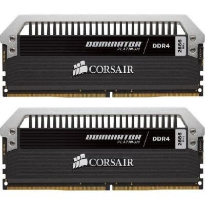 Corsair  32GB DDR4-3000 Kit, CMD32GX4M2B3000C15, Dominator Platinum