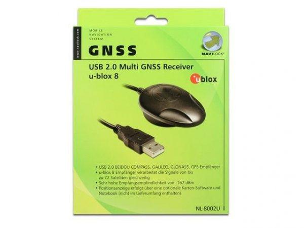 Navilock NL-8002U USB Odbiornik GPS, Modul