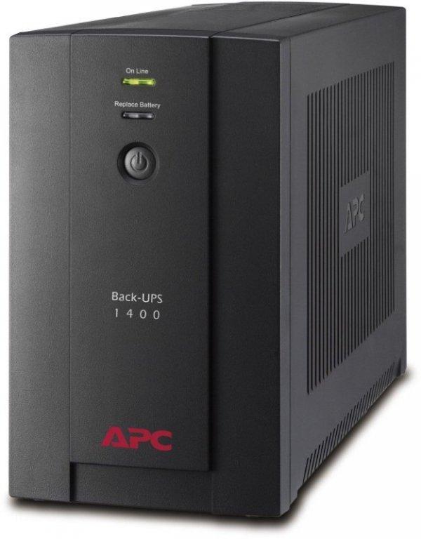 APC Back-UPS BX1400U czarny, 1400VA