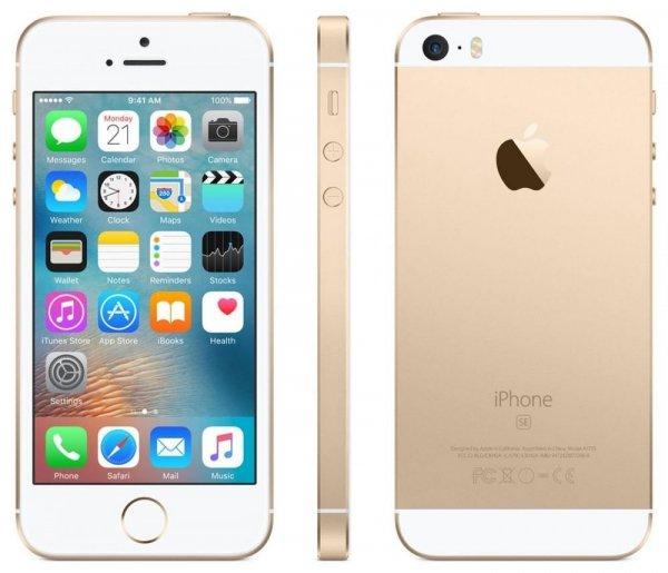 Apple iPhone SE 64GB gold R-NEW