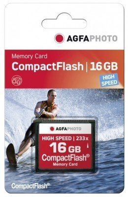 AgfaPhoto Compact Flash 16GB High Speed 233x MLC