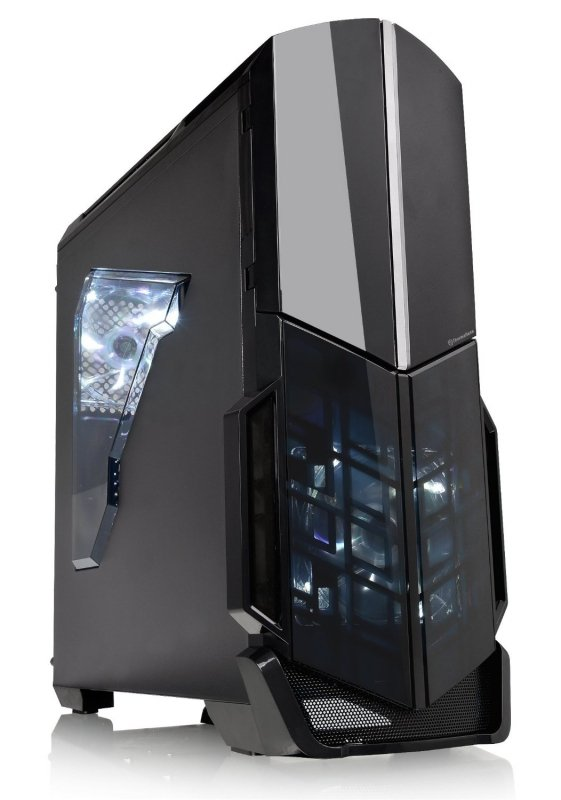 Thermaltake Versa N21, Tower czarny, Window-Kit