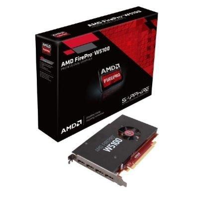 Sapphire AMD FirePro W5100, 4x DisplayPort