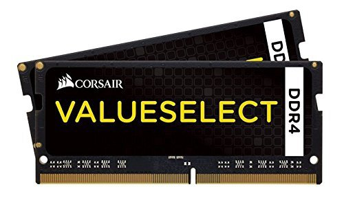 Corsair ValueSelect SO-DIMM 8GB DDR4-2133 Kit, CMSO8GX4M2A2133C15, Value Select
