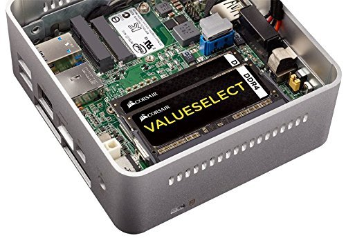 Corsair ValueSelect SO-DIMM 8GB DDR4-2133 Kit, CMSO8GX4M2A2133C15, Value Select