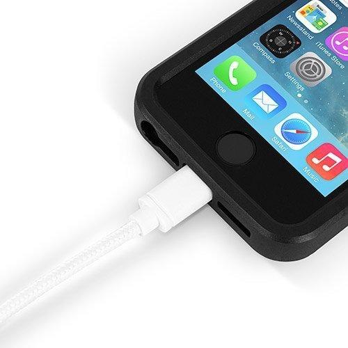 OWC Prem. Braided USB zu Lightning 2m - biały
