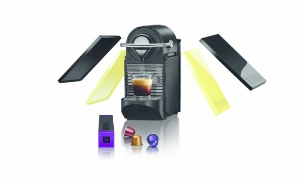KRUPS  XN 3020 PIXIE CLIPS Nespresso Black & Lemon Neon