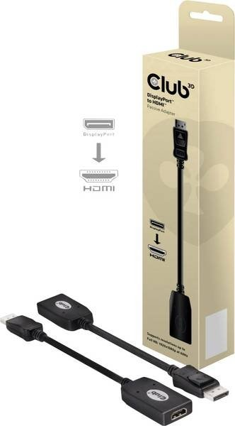 Club 3D Adapter DisplayPort na HDMI