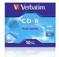 Verbatim CD-R 800 MB 40x, 10 Szt.