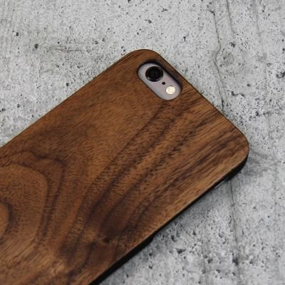 Woodcessories EcoCase Classic iPhone 6 / 6s walnut+black