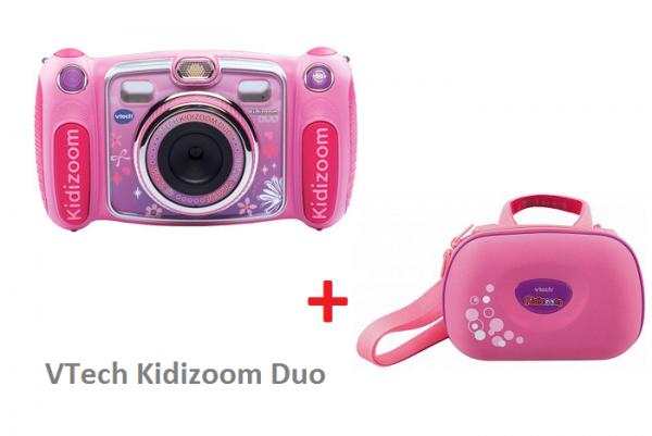 VTech Kidizoom Duo różowy + Carry case w komplecie