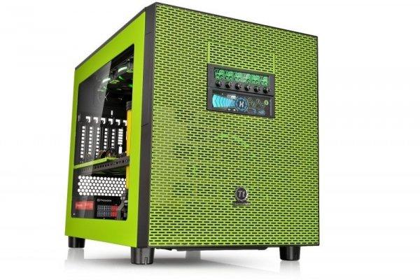 Thermaltake Core X5 Riing Edition, Tower zielony, Window-Kit