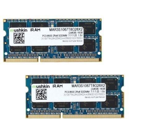 Mushkin SO-DIMM 16 GB DDR3-1066 Kit 2Rx8,MAR3S1067T8G28X2