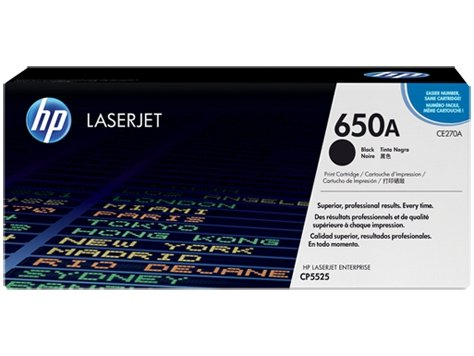 Toner HP CP5525n Contract     black       CE270A