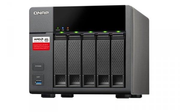 QNAP TS-563-8G [0/5 HDD/SSD, 2x Gigabit-Lan, 5x USB]