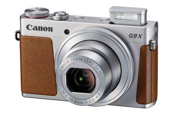 Canon Powershot G9 X 20,2 MP, 3x opt. Zoom srebrny
