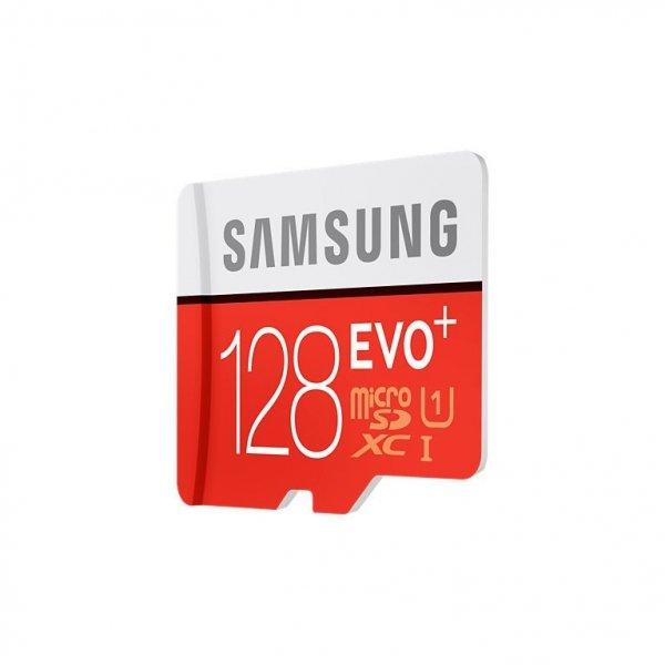 Samsung microSDXC Class 10 128GB Evo+ with Adapter