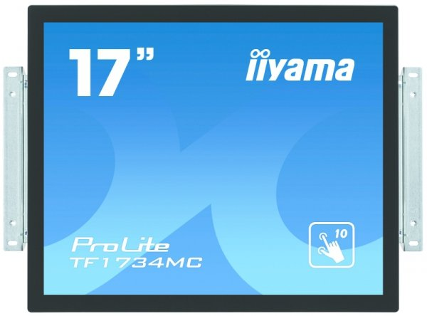 IIYAMA 17''   TF1734MC-B1X  5:4  M-Touch DVI+USB bl.