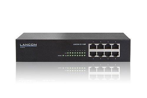 Lancom GS-1108P PoE/1000/UNM/ 8 - max. 60W