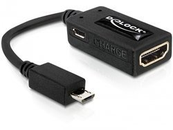 Delock MHL wtyczka -> HDMI gniazdo