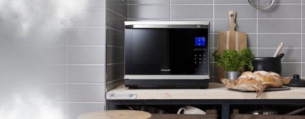 Panasonic NN-CS894 mikrafalówka do gotowania na parze z grill + termoobieg