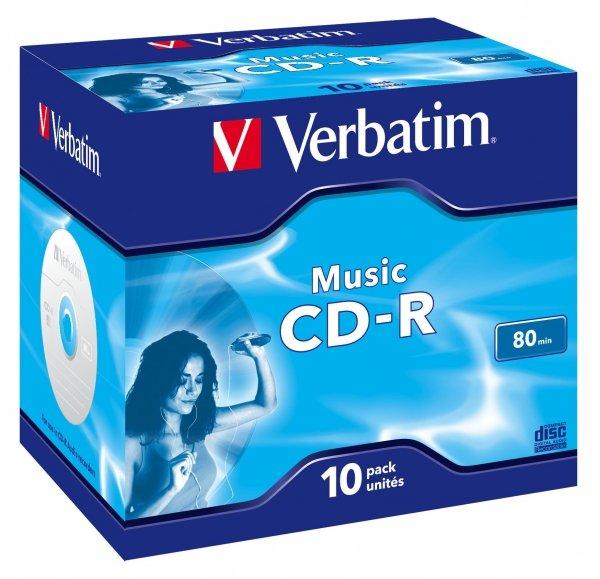 Verbatim CD-R 700 MB 16x, 10 Szt.