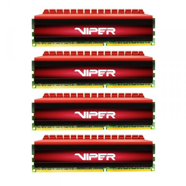 Patriot 16GB DDR4-2800 Quad-Kit, PV416G280C6QK, Viper 4
