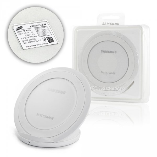 Samsung Wireless Charging Pad for Galaxy S7 white EP-NG930