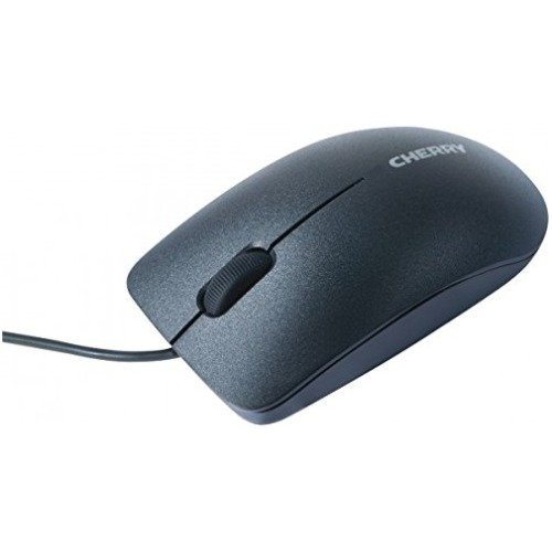 Cherry MC 2000 - myszka do laptopa - czarna