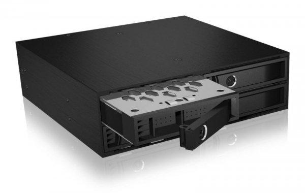 "Raidsonic ICY BOX IB-2242SSK Backplane, 4xSATA 2,5"" HDD (6-15 mm) dla 1x5,25"" Schacht"