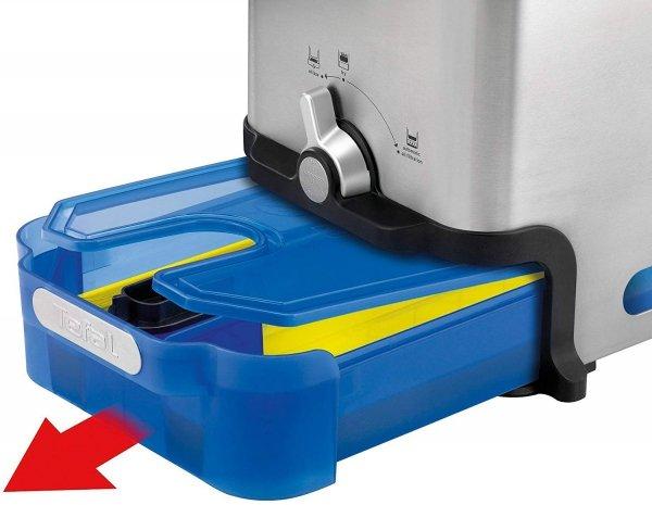 Tefal FR8040 Oleoclean Pro Inox & Design Frytkownica