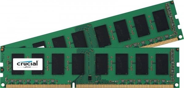 Crucial 16GB Kit DDR3L 1600 MT/s 8GBx2 UDIMM 240pin