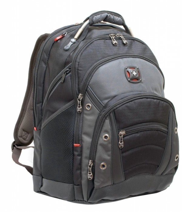 Wenger Synergy Backpack Black 15.4