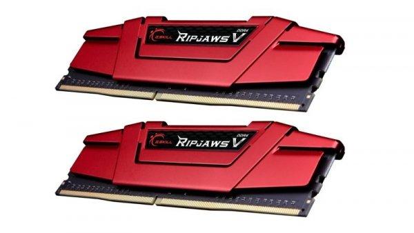 G.Skill 32 GB DDR4-3200 Kit, F4-3200C14D-32GVR, Ripjaws V