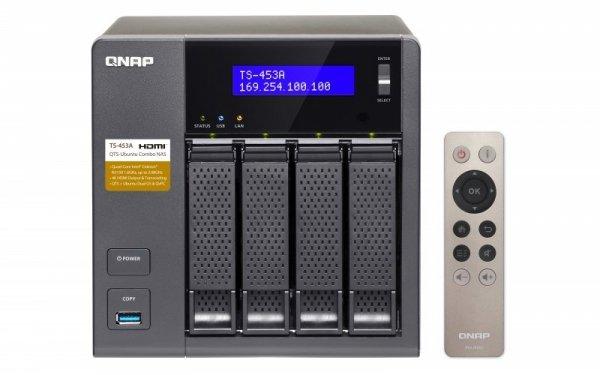 Qnap Turbo Station TS-453A-4G [0/4 HDD/SSD, 4x Gigabit-Lan, 4x USB]
