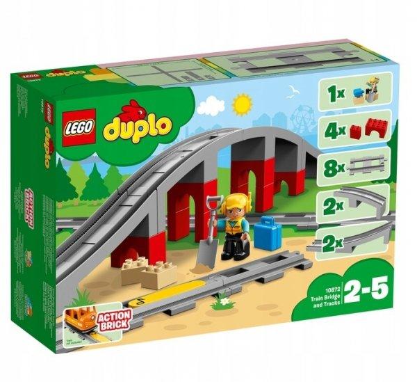 LEGO DUPLO 10872 TORY KOLEJOWE I WIADUKTY
