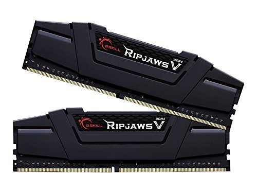 G.Skill 16GB DDR4-3600 Quad-Kit, F4-3600C17Q-16GVK, Ripjaws V