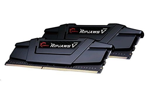 G.Skill 8GB DDR4-3200 Kit, czarny, F4-3200C16D-8GVK, Ripjaws V