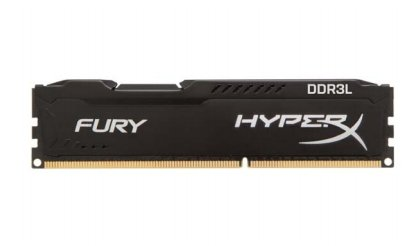 Kingston HyperX 8GB DDR3L-1866, HX318LC11FB/8, Fury Black