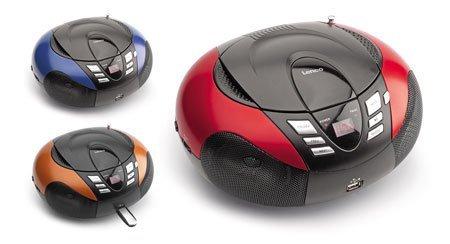 Lenco SCD-37 USB czerwony