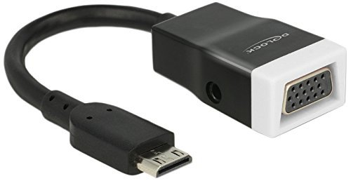 DeLOCK Adapter HDMI-mini-C - VGA D-Sub