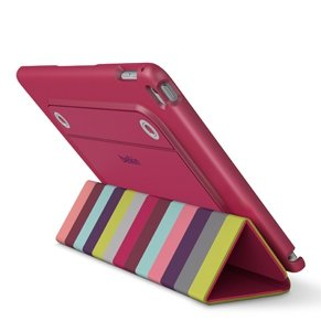 Belkin Reversible Cover różowy / colorful iPad Air 2  F7N313btC00