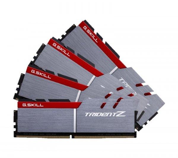 G.Skill 32 GB DDR4-3000 Quad-Kit, F4-3000C14Q-32GTZ, Trident Z